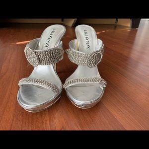 🔥👠🌈Liliana Crystal sandals 👠💥💖